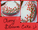 Cherry Blossom Cake Design