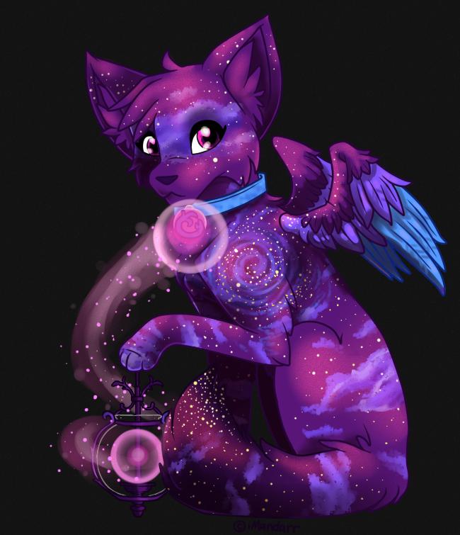 Dark Galaxy Spark Fox Auction CLOSED