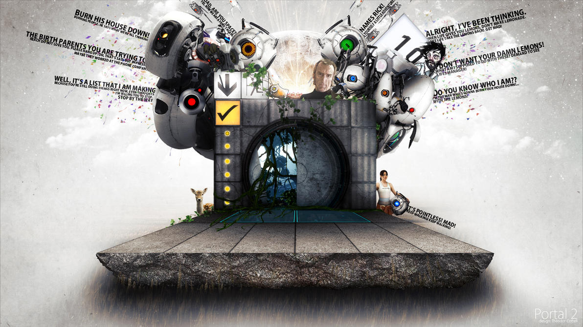 Portal 2 Wallpaper By Teddann
