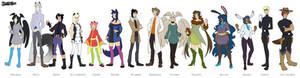 KtC- Character Line up
