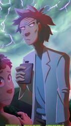 Rick And Morty by Nintala