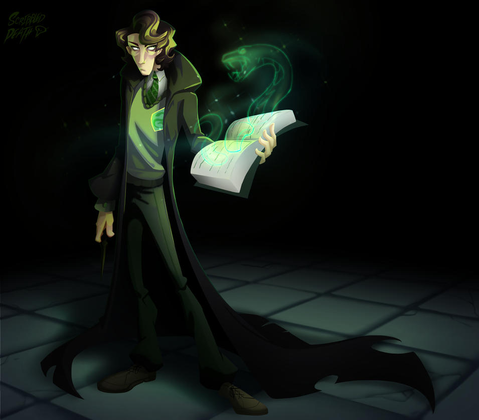 Character Design Challenge Patreon : Character design challenge tom riddle by nintala on