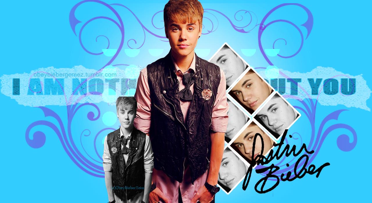 Justin Bieber wallpaper by ObeyBieberTeen