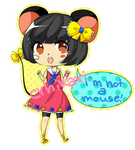 Mouse girl |RE: adoptable CLOSED| + gift!