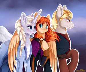 Frozen 2: my little pony version by mailNer