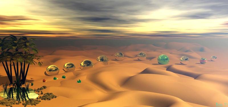 Desert by isider
