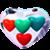 Glass-hearts