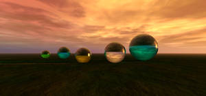 Audra's spheres! by isider
