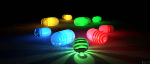 Glowing Capsules for Joe by isider