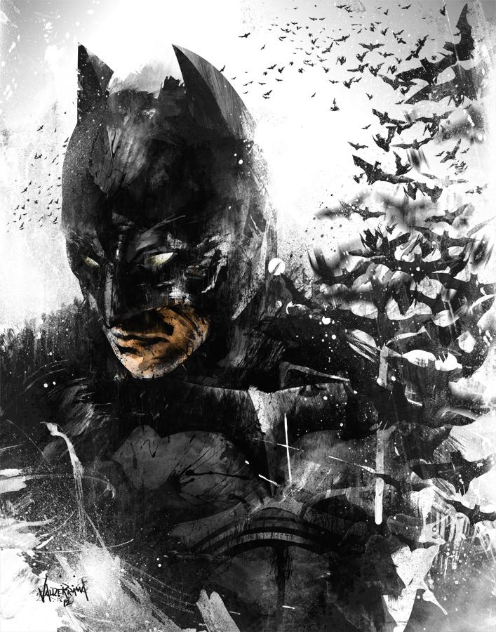 The Dark Knight Rises... So Does His Bats.