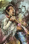 Jimi Hendrix, 1942-1970 by thefreshdoodle