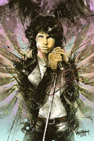 Jim Morrison, 1943-1971 by thefreshdoodle