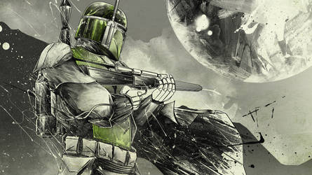 WIP - Boba Fett by thefreshdoodle