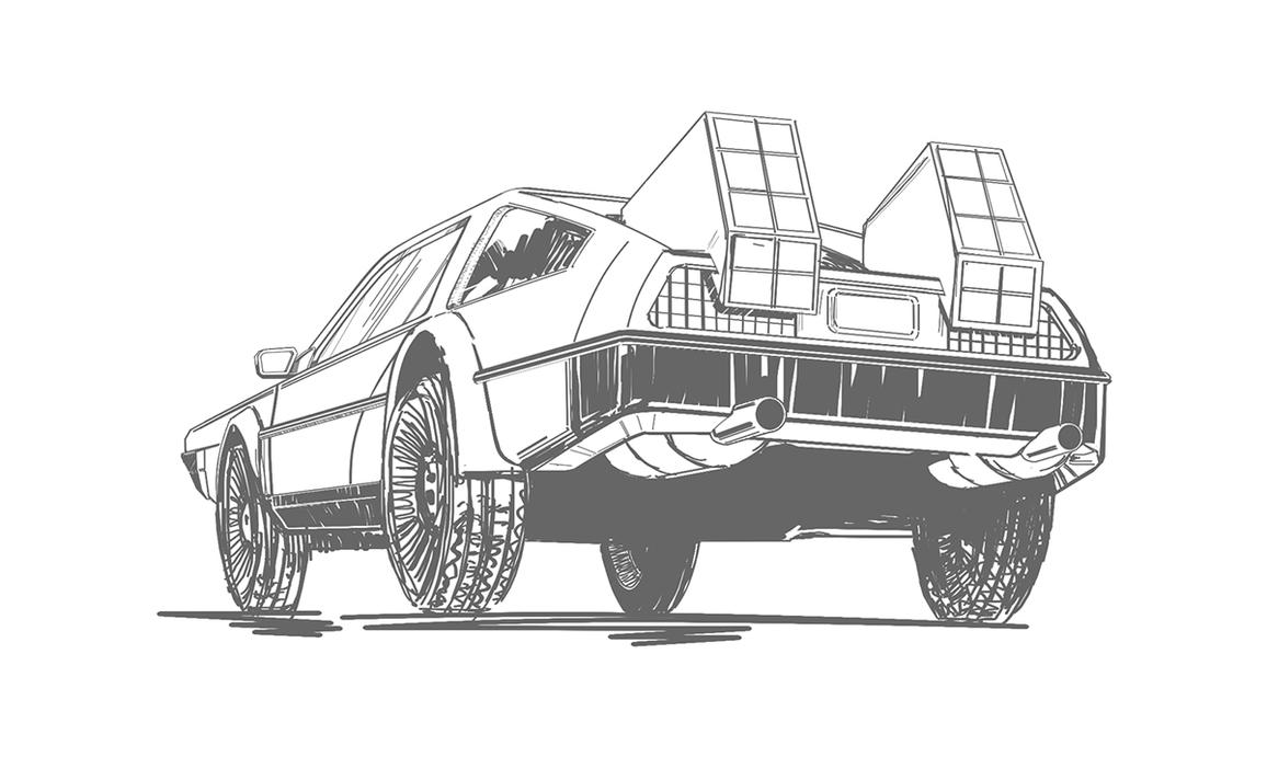 WIP - Back to the Future by thefreshdoodle