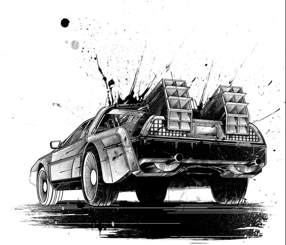 Wip Delorean by thefreshdoodle