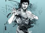 WIP - Cool blue Bruce Lee