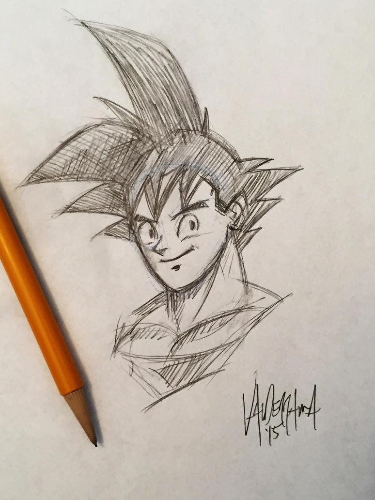 Goku by thefreshdoodle