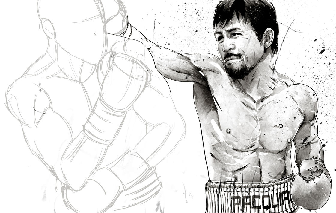 WIP - Mayweather vs Pacquiao by thefreshdoodle