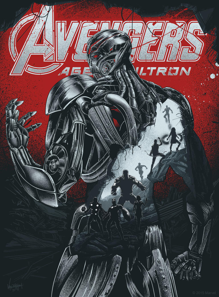 Avengers Age Of Ultron By Iloegbunam On Deviantart: Avengers 2: Age Of Ultron By Thefreshdoodle On DeviantArt