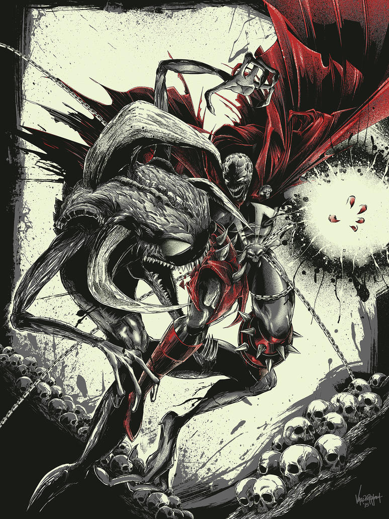 Spawn vs Violator by thefreshdoodle