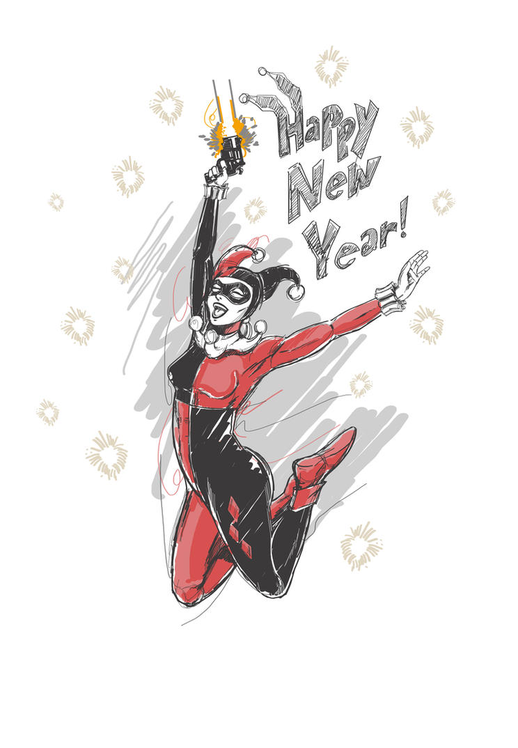 HAPPY NEW YEAR by thefreshdoodle