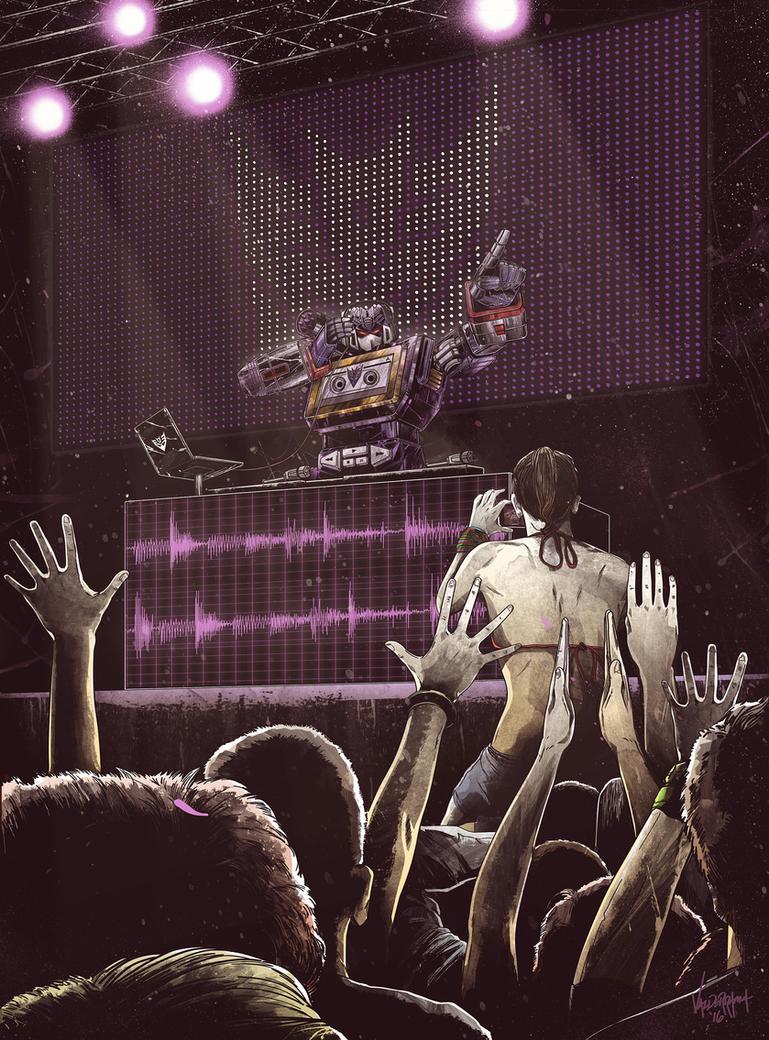 DJ Soundwave by thefreshdoodle