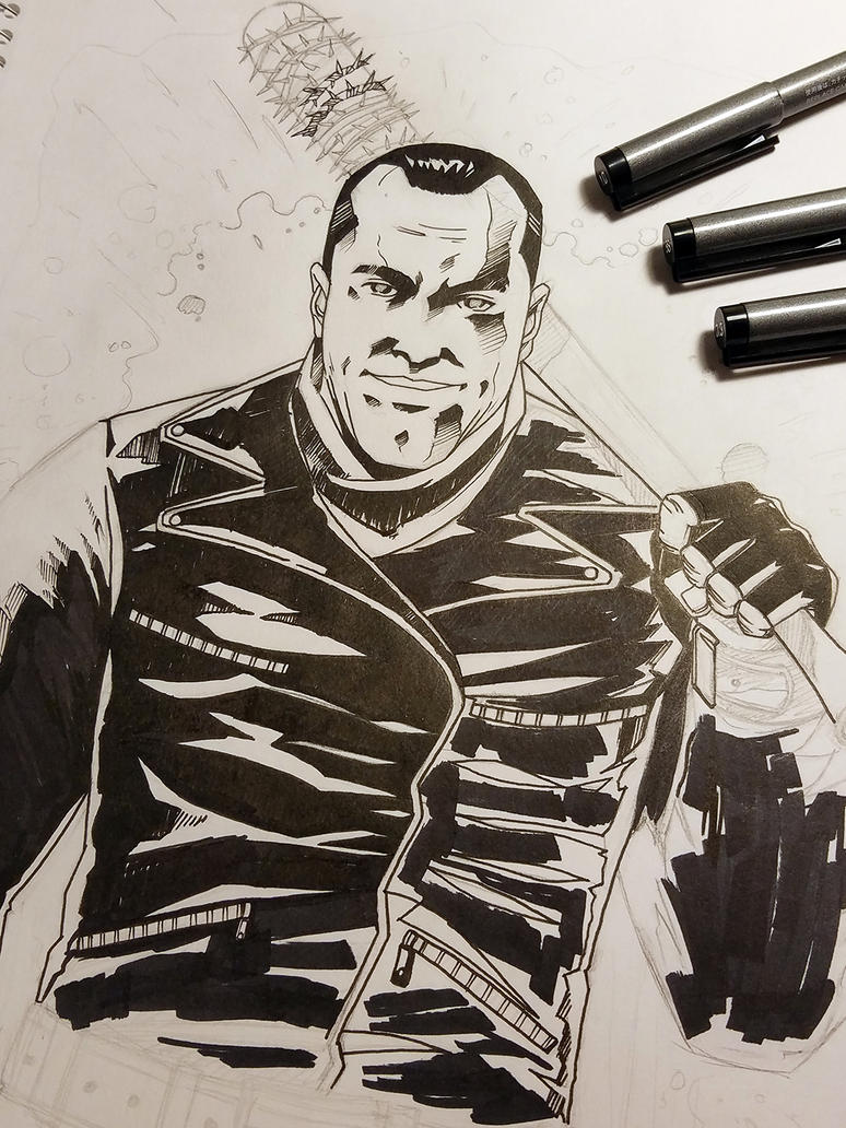 WIP - Negan by thefreshdoodle