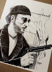 Leon the Professional by thefreshdoodle