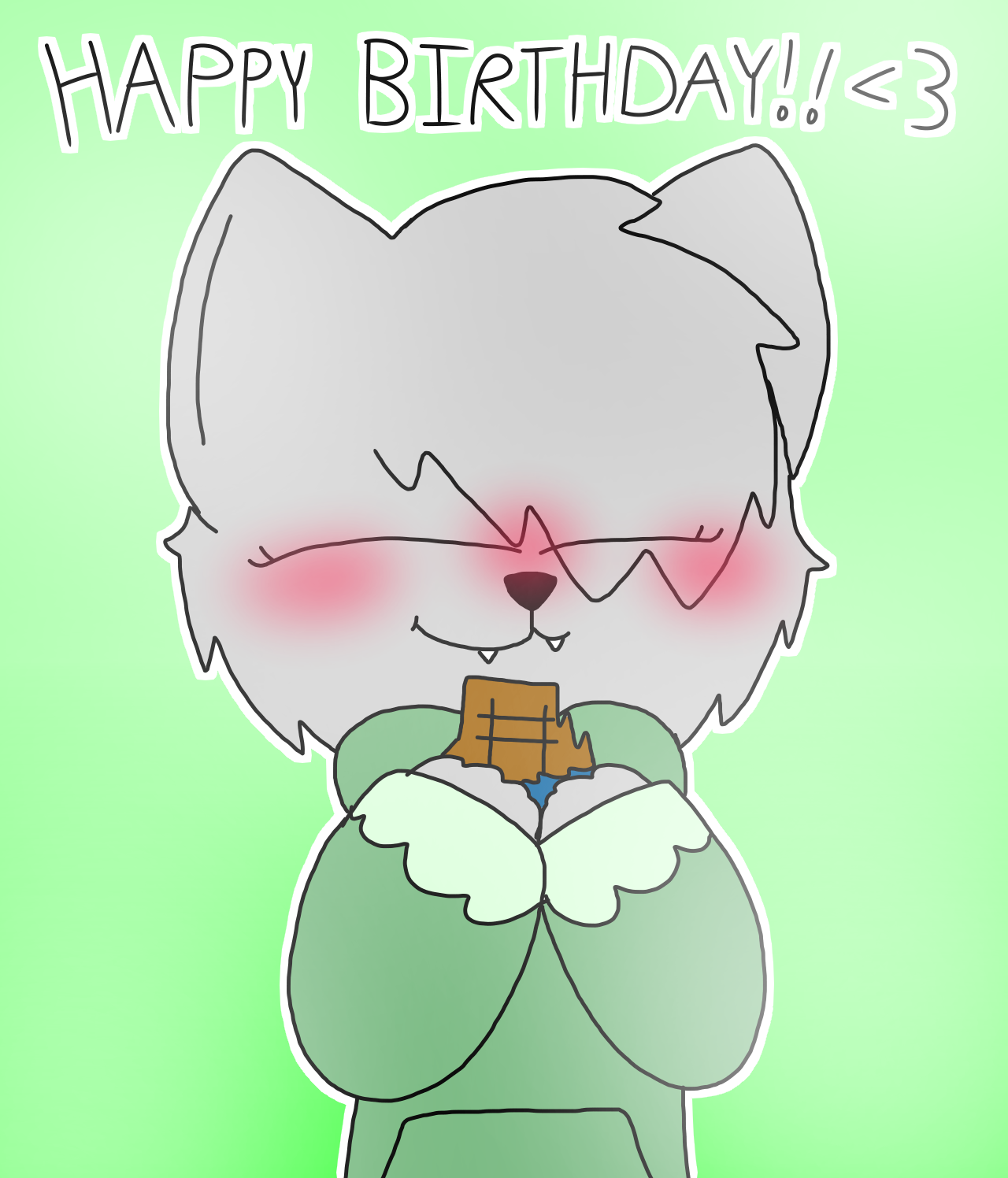 ( SPEEDPAINT IN DESC ) happy birthday!! by SappiPapi