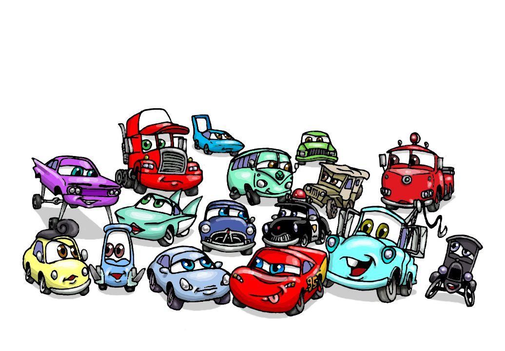 Cars Humanized