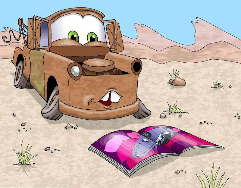 Cars  Fanfiction Finn And Holley
