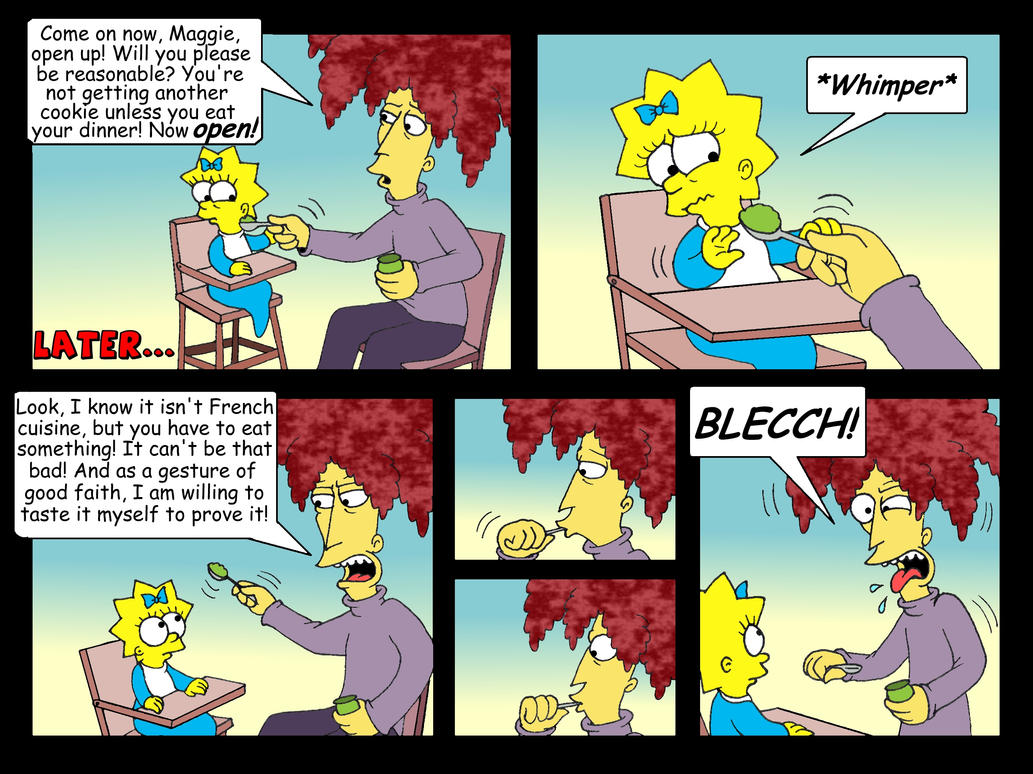 'Babysitter Bob' comic, pg. 24 by Nevuela