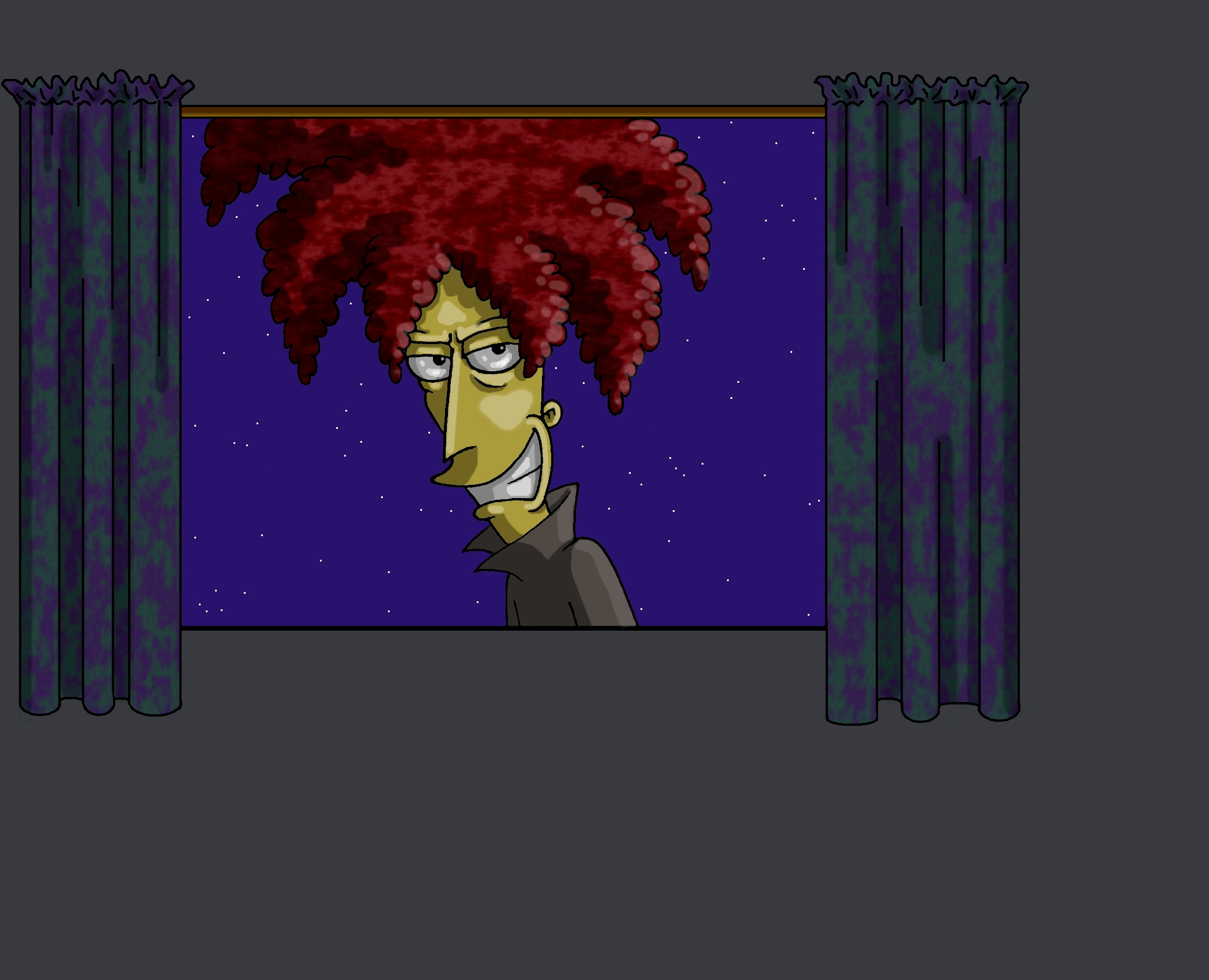 Sideshow Bob is Watching You by Nevuela