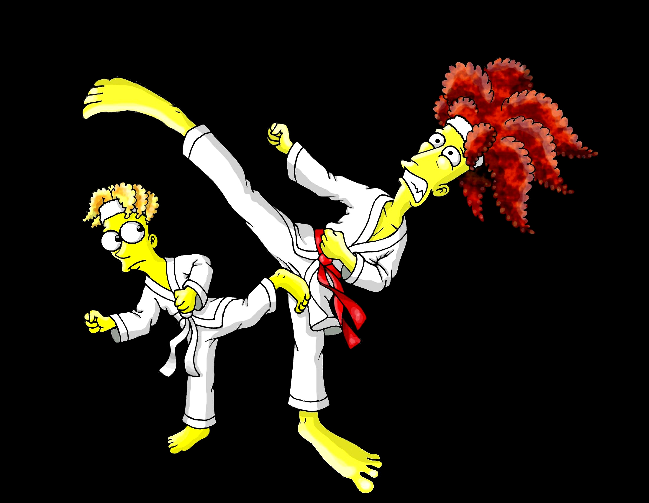 Karate Kicks by Nevuela
