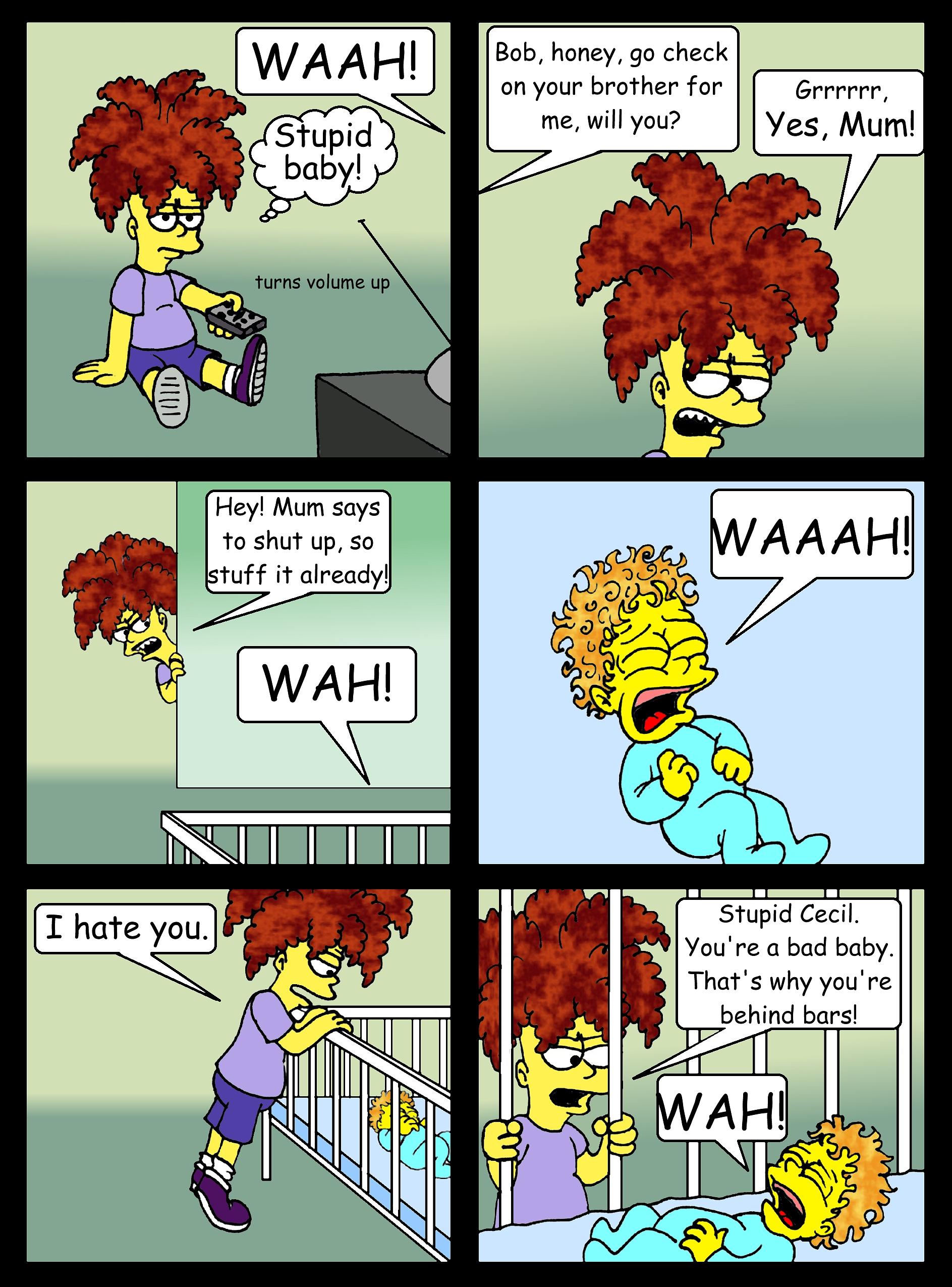 Bob vs. the Baby, pg. 1 by Nevuela
