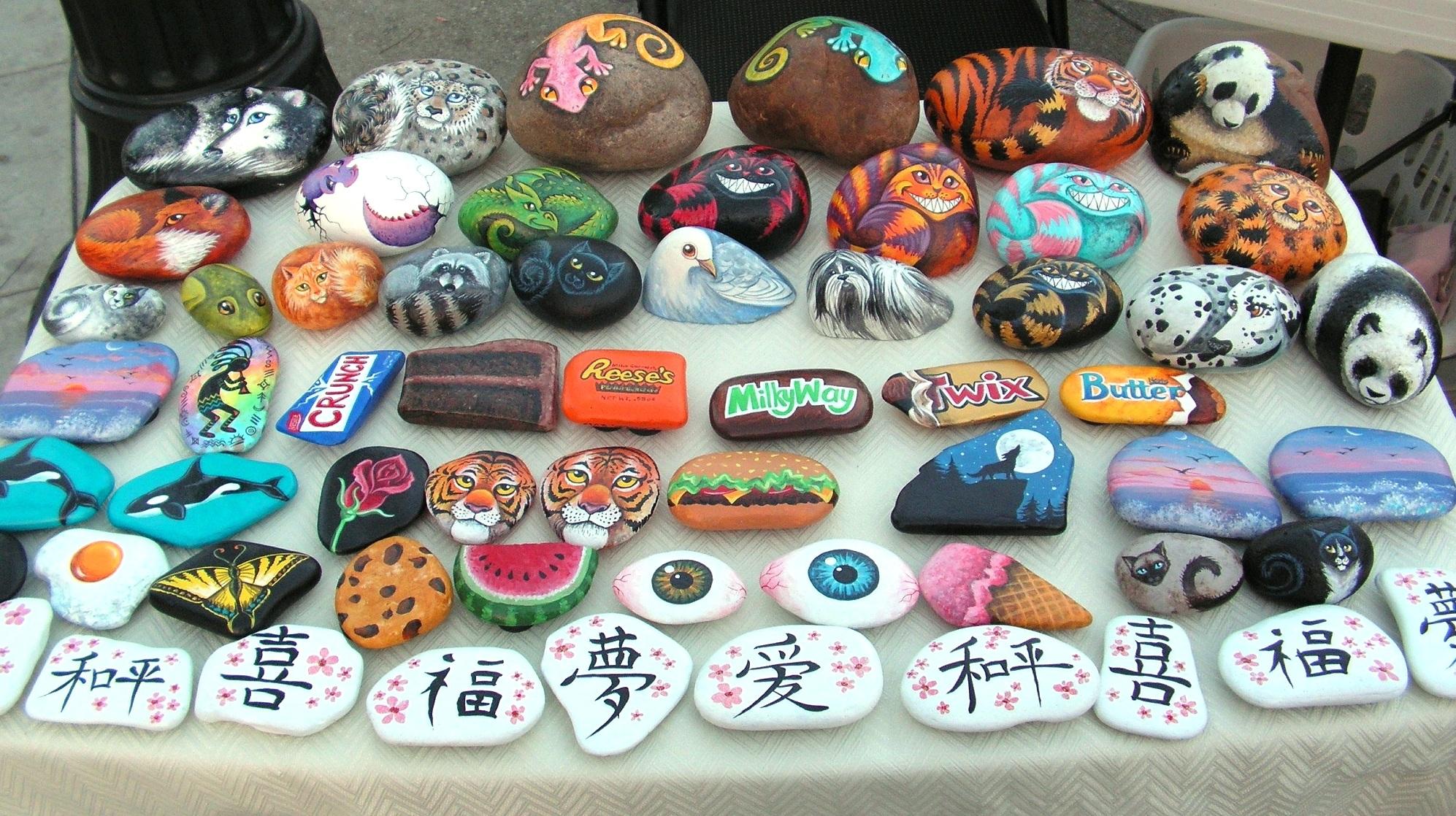Painted Pebbles On Pinterest Rocks Hand Rocks And