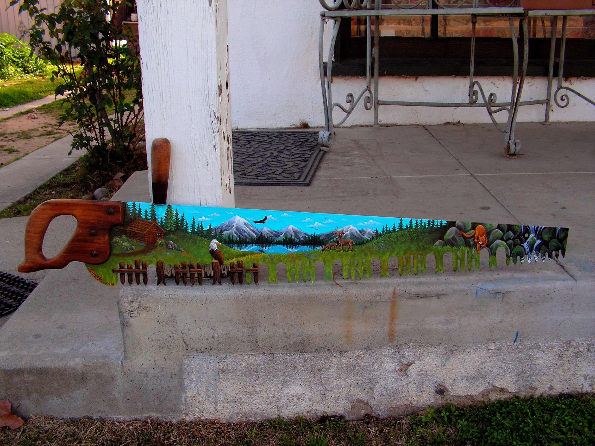 Painted Saws For Sale