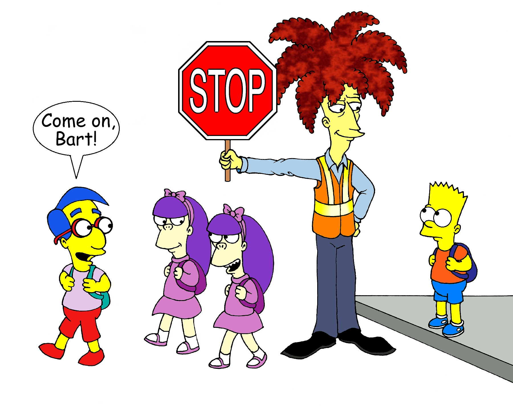 Bob's Jobs ~ Crossing Guard by Nevuela