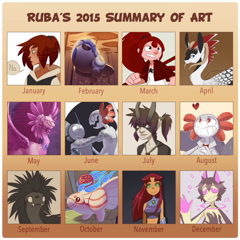 2015 Summary of Art by Rubilight