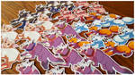Farm Animals and Canine Mobs stickers by Rubilight