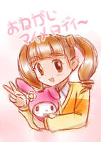 My Melody Sketch by Momotsuki