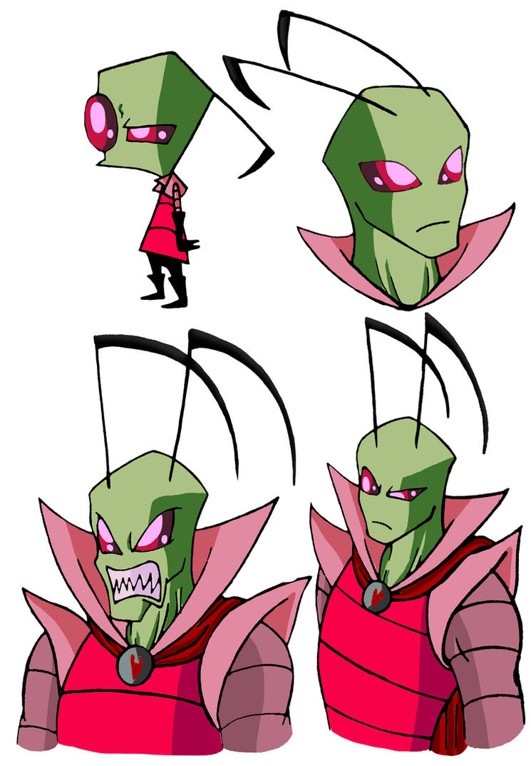 Invader Zim Growing Up By Naruto Warriors Oc