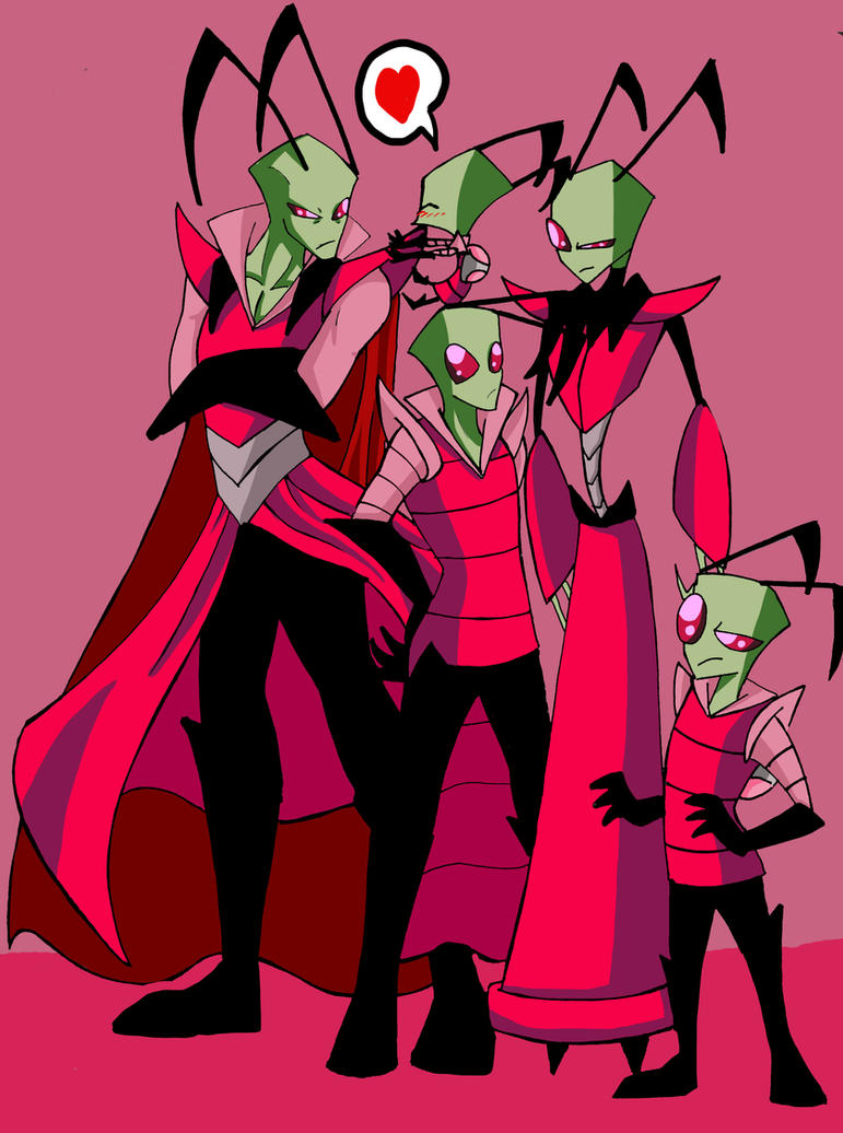 Invader Zim Growing By Naruto Warriors Oc