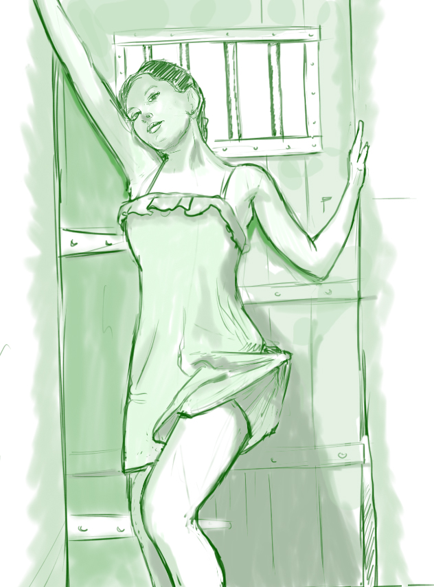 Follow the green fairy by inikini