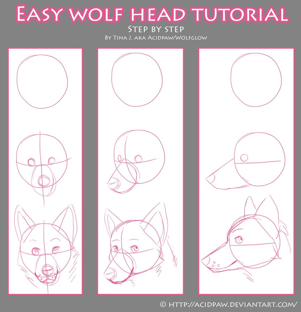Easy Wolf Head ...