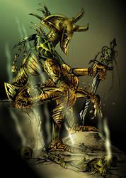 LONEwarrior by deadspirit6