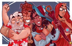 IT'S THE ADVENTURE ZONE by Renette-Hollow