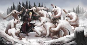 Fluffy Werewolf Attack