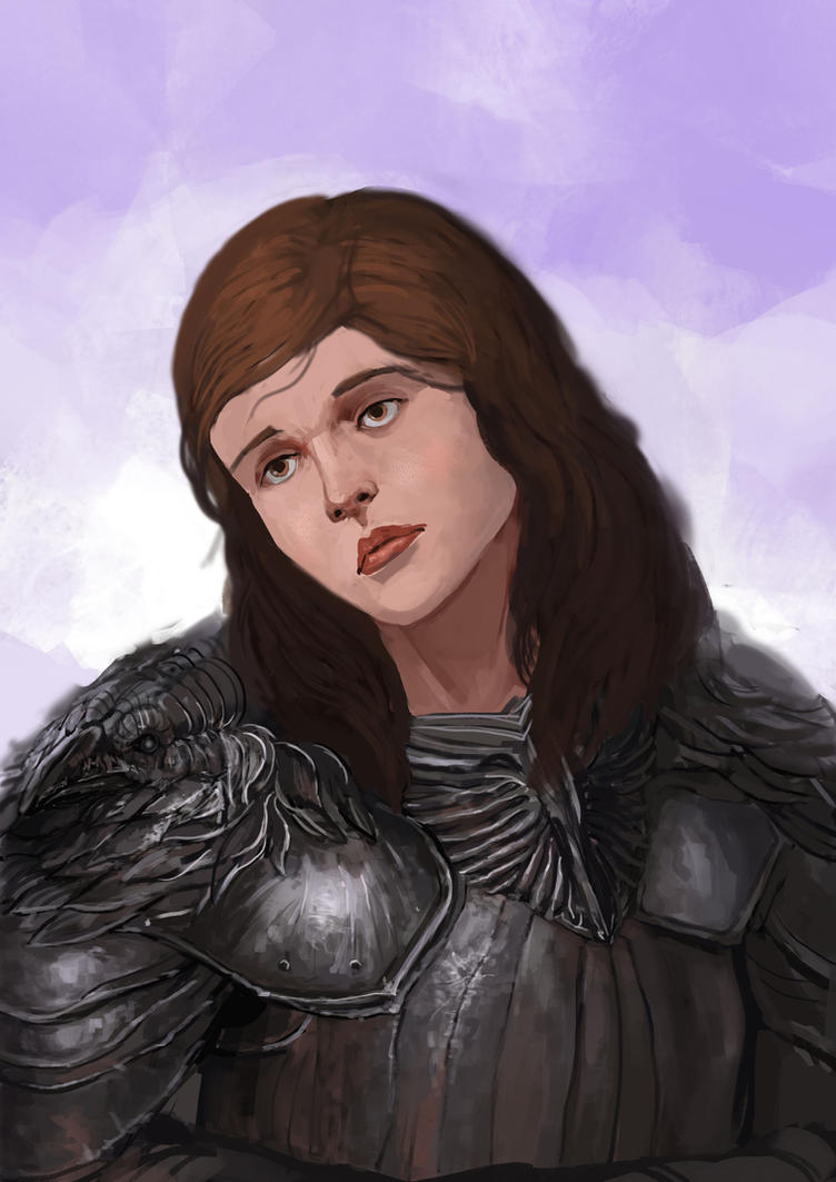 Knight Portrait Sketch (Updated) by Zipfelzeus