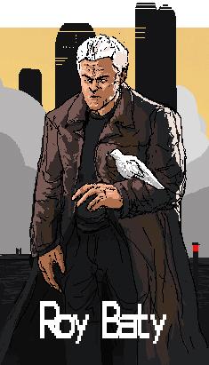 Pixel Roy Batty by Zipfelzeus